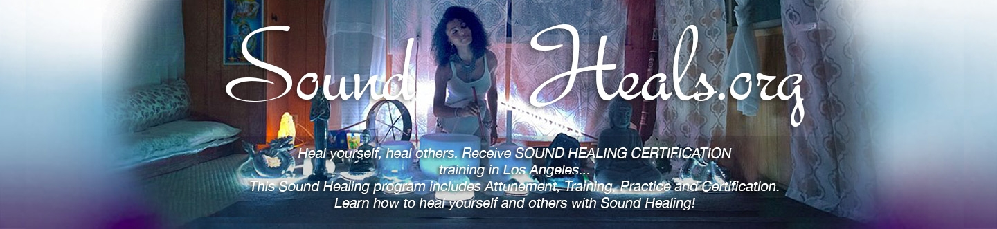 Sound Healing Certification Courses And Healing Instruments